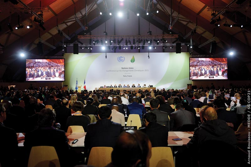 the December 2015 COP-21 climate change conference in Paris, France