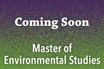 Master of Environmental Studies