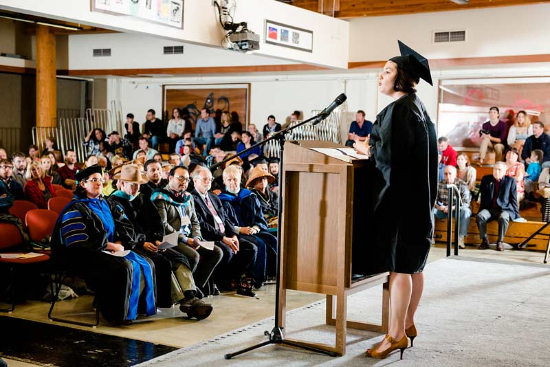 Hooding ceremony