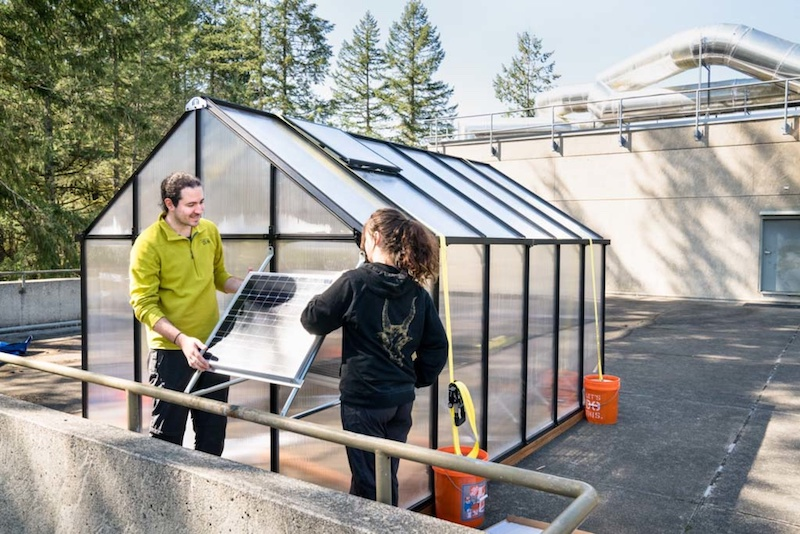Energy-Sustainable Greenhouses Provide Exciting New Research Opportunities