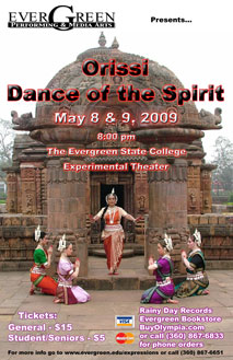Poster Orissi Event May 2009