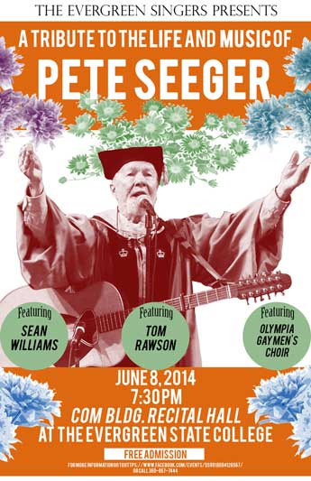 A Tribute to the Life and Music of Peter Seeger Poster