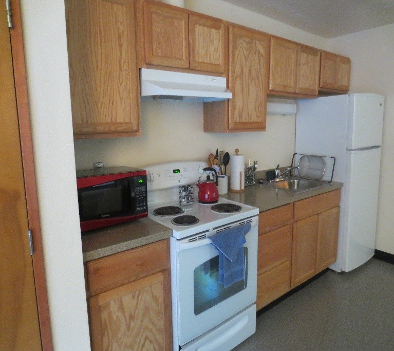 housing guestroom kitchen