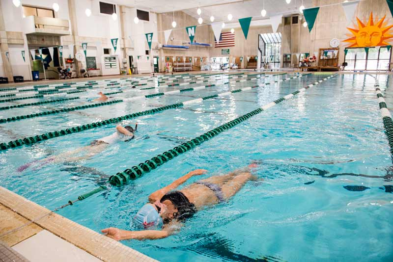 The CRC swimming pool