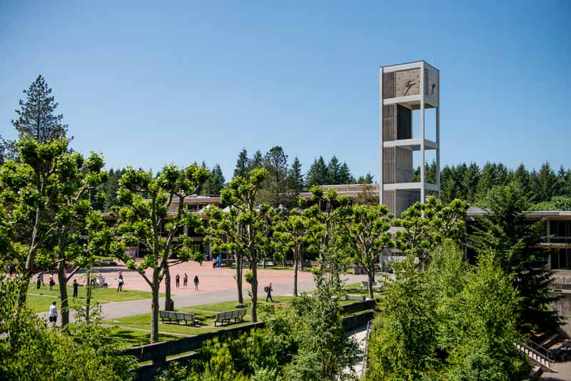 The Evergreen State >> Directions And Parking The Evergreen State College