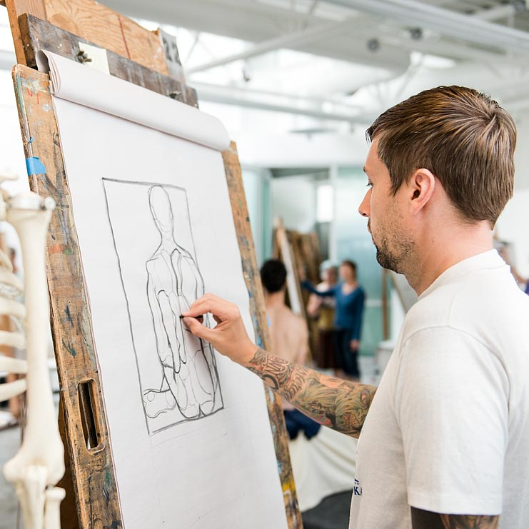 Studying Art In College - ArtsCounselor.com