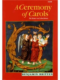 Ceremony of Carols singing angels