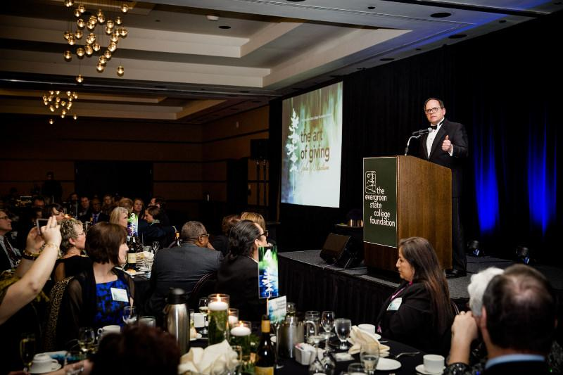 Photo of the 2017 Art of Giving fundraiser event.