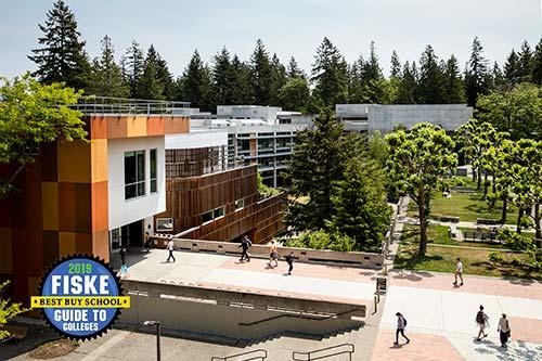 Evergreen is Fiske 2019 Best Buy College