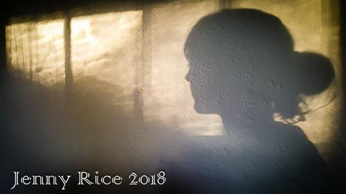 Jenny Rice art photo shadow on a wall