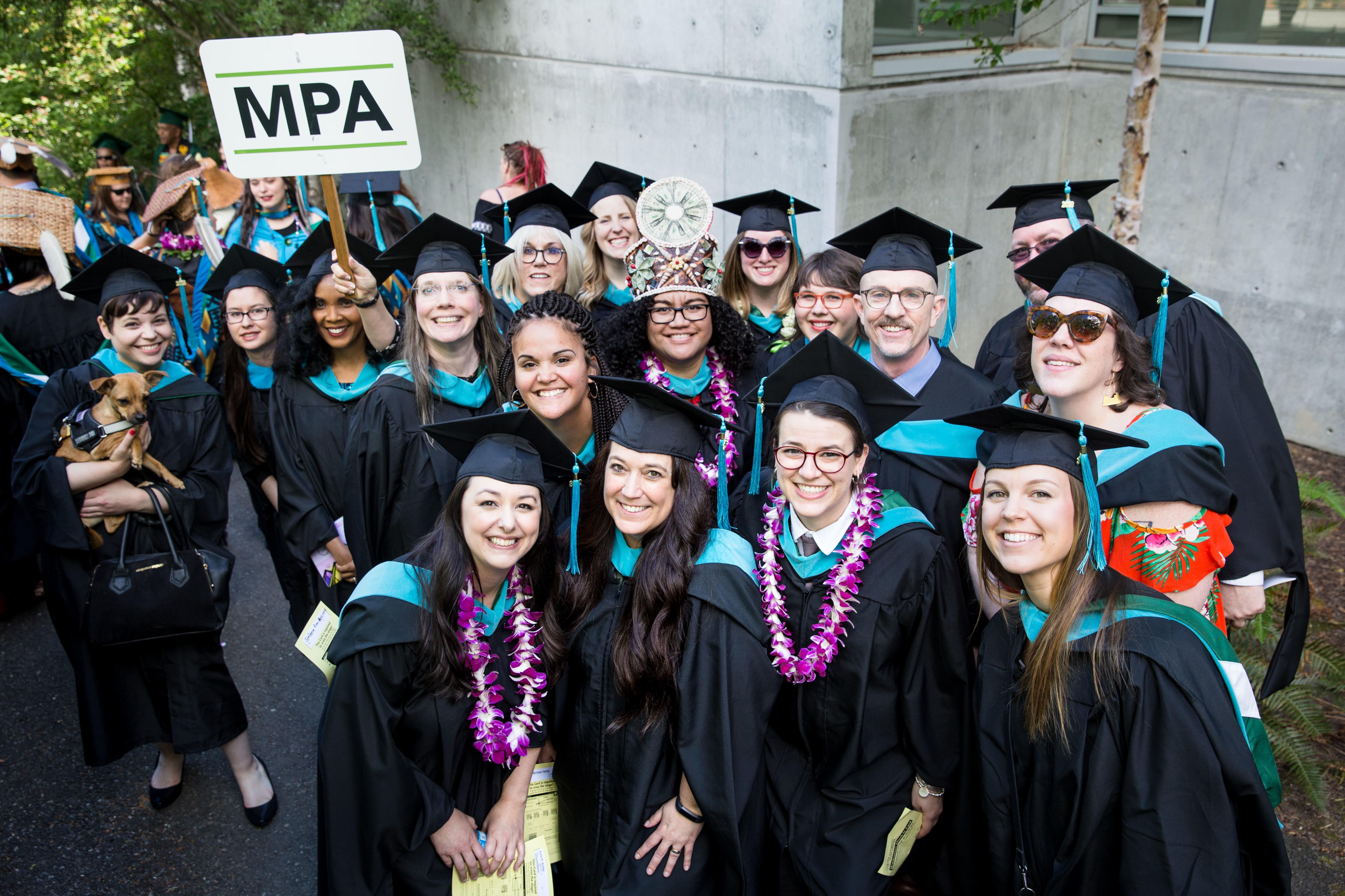 Portland State Graduation 2020.Meet Our 2019 2020 Mpa Student Ambassadors The