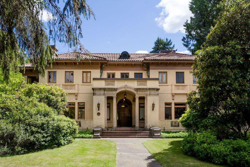 The Evergreen Talks lectures take place at the historic Lord Mansion, located at 211 21st Avenue SW in the Capitol neighborhood. Credit: By Shauna Bittle, Courtesy of the Evergreen State College