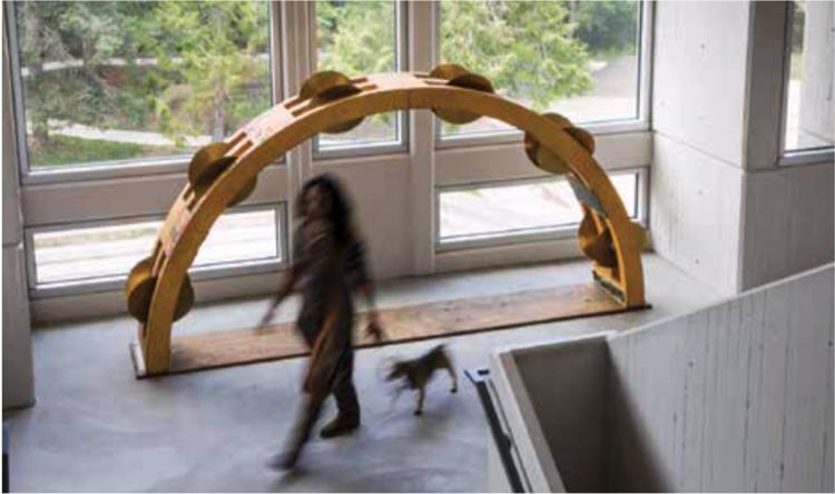 Tambourine Sculpture by Carol Rashawnna Williams '97
