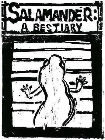 Salamander: A Bestiary by Leonard Schwartz