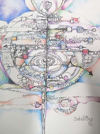 drawing by Krislyn Moore