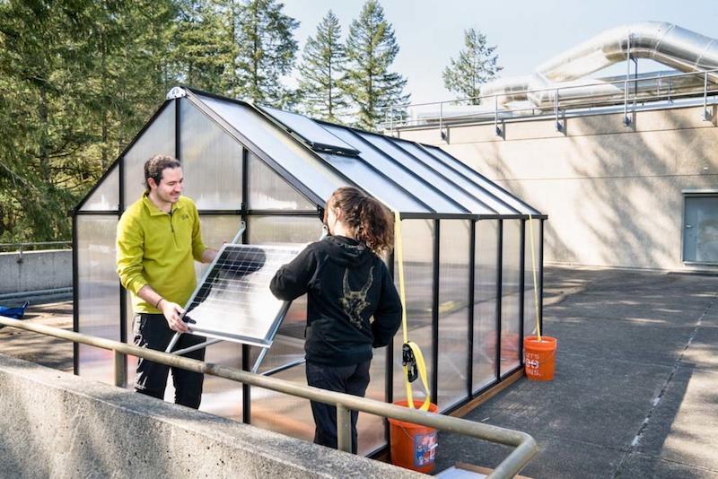 Lab II Rooftop Greenhouse