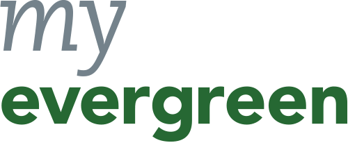 My Evergreen logo in low resolution.