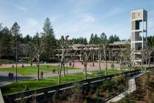Evergreen State College Red Square