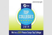 Peace Corps Top Colleges 2019