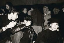 Andy Warhol, Marcus Leatherdale and Unidentifed Men and Women.