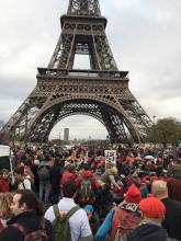 An American (MESer) in Paris - COP21 and Direct Action