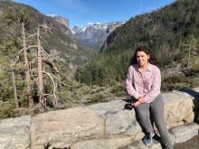 Meara at Yosemite Valley