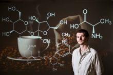 NMR helped Rodakowski do research into coffee brewing chemistry.