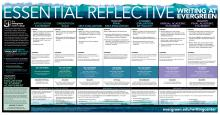 essential reflective writing at Evergreen table pdf