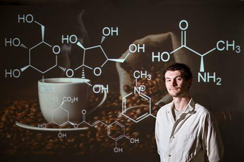 NMR helped Rodakowski do research into coffee brewing chemistry.