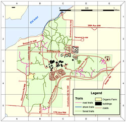image of trail map