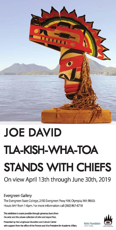 Joe David Tla-Kish-Wha-Toa stands with Chiefs